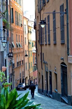 Genoa, Italy... lived here for a while. I miss when guys walk by and say 'ciao bella!' I need to go back.