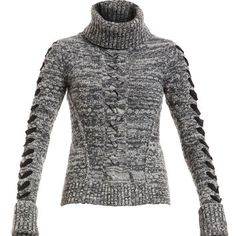 Veronica Beard The Cable Pullover - Turtleneck Sweater - ShopBAZAAR