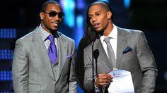 Cruz and Manningham at the Grammy's..lookin good fellas