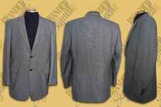 Loro PIANA CASHMERE Suit JACKET Men s 44 Long US Houndstooth Jack Victor Canada Cashmere Suit, Jacket Men, Office Wear, Houndstooth, Dress To Impress, Canada, Blazer, How To Wear, Jackets