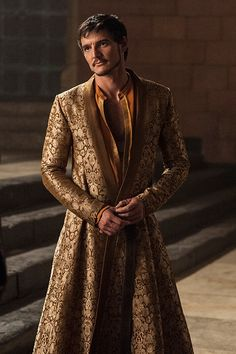 Oberyn Martell...wish they didn't kill him off.  I was actually impressed w/ his sarcasm.  And fighting skills, but then I'm not the writer.  lol. - season 4 belonged to him