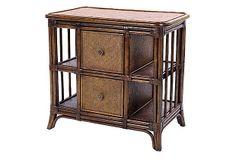Sofia End Table, Golden Mahogany on OneKingsLane.com