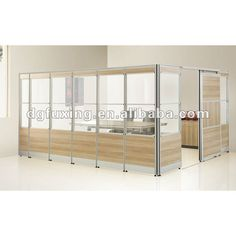 Office Wall Dividers Transparent Office Partition Glass Partition