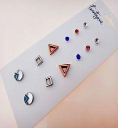 SET BÔNG TAI TRÒN BẠC B2648 Set bông tai tròn bạc thương hiệu F21được làm bằng hợp kim màu bạc. Set gồm nhiều bông tai hình dáng khác nhau rất dễ thương và nhẹ nhàng. Thích hợp với mọi bạn gái.  Giá SP xem tại: http://yuna.com.vn/ #trangsucxuatkhau #trangsuc #phukien #shopphukien #jewelry #earring #rings #phukientrangsucxuatkhau #saigon #hcm #phukientrangsuc #shoptrangsuc #mua #giare #bongtai #sale #giamgia #yunashop