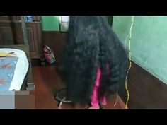 Monster Hair Lady - YouTube Long Black Hair, Super Long Hair, Braids For Long Hair, Long Hair Styles, Youtube, Beauty, Long Hair Hairdos, Cosmetology, Long Hairstyles