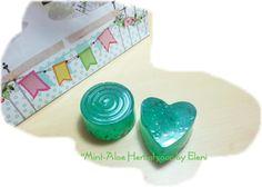 Aloe Mint Herbal soap by Eleni by ElenisLittleShop on Etsy