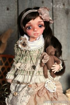 Авторская текстильная кукла / Изготовление авторских кукол своими руками, ООАК / Бэйбики. Куклы фото. Одежда для кукол