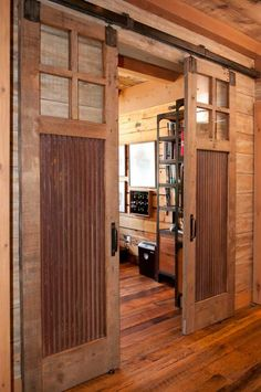 Sliding Barn Door Design | Reclaimed Sliding Barn Doors – A Solid Design Statement