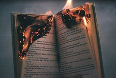 book burning, flames, vintage looks, hipsters Book Burning, Fire Photography, Photography Books, Beauty Photography, Photography Ideas, The Book Thief, Southern Gothic, Favim, The Villain