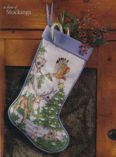 Ideas Embroidery Christmas Stocking Cross Stitch Patterns For 2019 Santa Cross Stitch, Cross Stitch Christmas Stockings, Cross Stitch Stocking, Xmas Stockings, Cross Stitch Animals, Christmas Cross, Counted Cross Stitch Patterns, Christmas Ideas, Merry Christmas