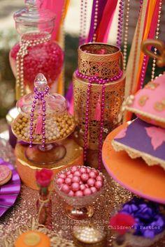 Arabian theme candy dish