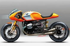 BMW Concept Ninety Motorcycle side Photo on May 24, 2013