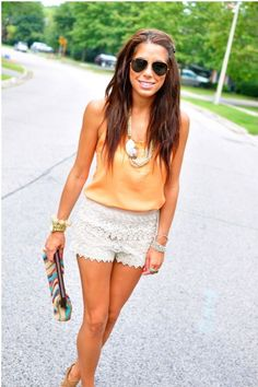 lace-ruffle-shorts