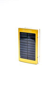 Metal Solar Power Bank Yellow RP 285.000