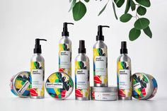 Abstract, Colorful Patterns make this Cosmetics Line Edgy & Modern — The Dieline | Packaging & Branding Design & Innovation News