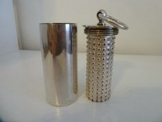 CHRISTOFLE ART DECO VERY RARE NUTMEG GRATER - mint Grater, Utensils, Spices, Art Deco, Mint, Silver, Ebay, Cooking, Spice