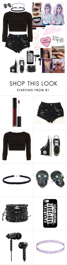 """""""Sorry for being inactive I have alot going on right now"""" by emmcg915 ❤ liked on Polyvore featuring Anastasia Beverly Hills, Dorothy Perkins, Converse, Tarina Tarantino, Beats by Dr. Dre and Prada"""