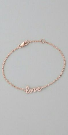 <3 ankle bracelet <3