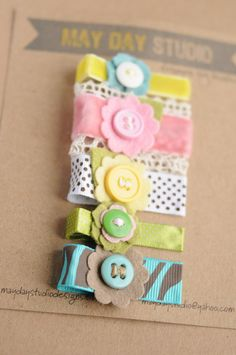 toddler girls alligator hair clips collection - spring bouquet - pinch clips set need to make. cute baby hair clipsneed to make. Felt Hair Clips, Baby Hair Clips, Baby Hair Bows, Baby Headbands, Organizing Hair Accessories, Baby Hair Accessories, How To Make Hair, How To Make Bows, Felt Flowers