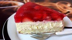 Erdbeerkuchen mit Schmand – Vanillecreme 5 Strawberry cake with sour cream – vanilla cream 5 Tart Recipes, Easy Cake Recipes, Sweet Recipes, Baking Recipes, Dessert Recipes, Dessert Blog, Baking Tips, Healthy Recipes, Sour Cream Cake