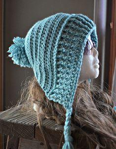 Judges' Nominee for Best Earflap Hat 2015: Tallulah Tassel Hood pattern by CassJames Designs
