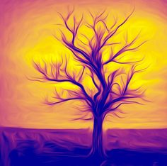 Saatchi Online Artist Martin Dingli; Digital, Tree #art