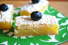 The Capitol Baker: Creamy Lemon Bars