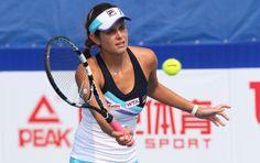 WTA Pattaya Open 2014 QFs: Julia Görges upsets #5-Seed Elena Vesnina 5-7, 6-3, 6-3.  #4 Ekaterina Makarova def. Kimiko Date-Krumm 6-2, 4-6, 6-4. 1/31/2014