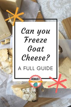 To simplify the process, we've laid out a step by step guide to storing, freezing and thawing goat cheese for optimal flavor preservation. Gluten Free Recipes For Lunch, Gluten Free Dinner, Gluten Free Breakfasts, Lunch Recipes, Cheese Ball, Goat Cheese, Cheese Spread, Freezer Cooking, Kitchen Hacks