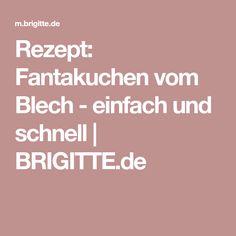 Rezept: Fantakuchen vom Blech - einfach und schnell | BRIGITTE.de