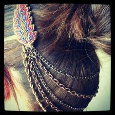 hair jewelry  collar tips
