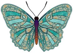 patchwork butterfly - Google Search