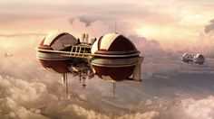 Dreamlike Concept Images of Cities that Float High Above the Clouds