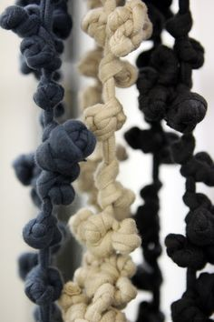 KNOTTED NECKLACES