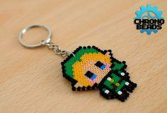 The Legend of Zelda Ocarina of Time Link Zelda por ChronoBeads