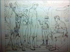 la bat-family reunida en el Salón familiar.
