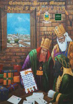 COFRADES DE ARAHAL: Todo sobre el cortejo de los Reyes Magos en Arahal...