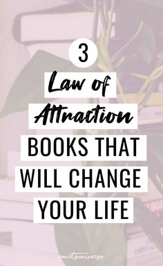 This list of my top 3 law of attraction books will drastically change your life and what you manifest! Manifestation Law Of Attraction, Law Of Attraction Tips, Attraction Quotes, Spiritual Growth, Spiritual Quotes, Science Of Getting Rich, Manifesting Money, Psychology Quotes, How To Manifest