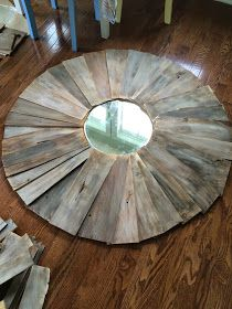 Right up my alley: DIY Large Statement Mirror