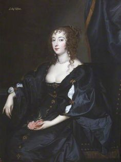 The Honourable Margaret Wotton (1617–before 1657), Lady Tufton by Anthony van Dyck (studio of)   National Trust Oil on canvas, 118.5 x 89 cm Collection: National Trust - Bickling, Norwich