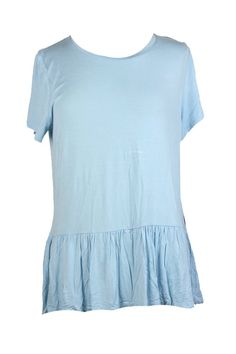 Tommy Hilfiger Porcelain Blue ShortSleeve Peplum Top L ** Click image for more details. (This is an affiliate link) Tommy Hilfiger Women, Peplum, Porcelain, Link, Image, Blue, Tops, Fashion, Moda