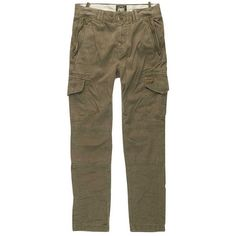 Superdry Boyfriend Cargo Pant ❤ liked on Polyvore featuring pants, superdry, superdry trousers, cargo trousers, boyfriend pants and brown cargo pants