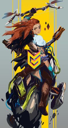 - The Seeker Game Concept Art, Character Concept, Character Art, Character Design, Horizon Zero Dawn Aloy, Playstation, Fanart, Girls Anime, Avatar