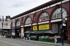 Kentish Town, tube station, London