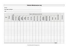 vehicle preventive maintenance schedule log automotive wolf car