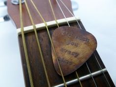 Personalized Guitar Pick - Engraved & Antiqued Copper Guitar Pick - I'd Pick You Every Time- Great Valentines Day Gift!Boyfriend Gift