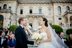 Maya and Manuel's wedding on the shores of the stunning Lake Como was nothing short of a dream...