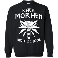 Double-needle stitching Decoration type: Digital Print Made by Gildan Size Chart Witcher 2, Wolf, Crew Neck, Graphic Sweatshirt, Pullover, Superhero, School, Sweatshirts, Sweaters