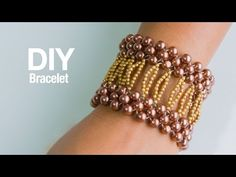"This video tutorial from The Potomac Bead Company teaches you how to make Allie Buchman's ""Queen of Diamonds"" bracelet design. Our Website (Shop online & fin..."