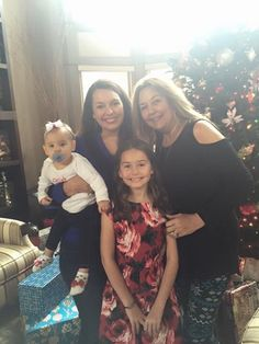 Camillle, Shannon, Rynne and Melody. Christmas 2015.